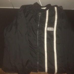 CASE ZIP UP SWEATER